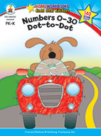 Numbers 0-30: Dot-To-Dot, Grades Pk - K (ebook)