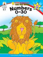 Numbers 0-30, Grades K - 1 (ebook)