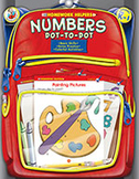 Numbers Dot-To-Dot, Grades Pk - 1