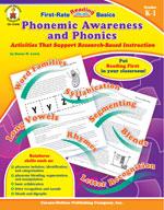 Phonemic Awareness and Phonics, Grades K-1