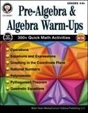 Pre-Algebra And Algebra Warm-Ups, Grades 5 - 8