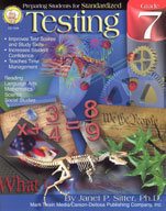 Preparing Students for Standardized Testing: Grade 7 by Mark Twain Media