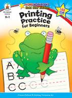 Printing Practice For Beginners, Grades K - 1
