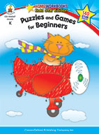 Puzzles And Games For Beginners, Grade K