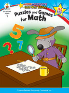 Puzzles And Games For Math, Grade 1 (ebook)