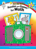 Puzzles And Games For Math, Grade 2 (ebook)