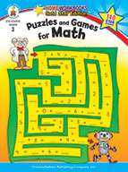 Puzzles And Games For Math, Grade 3 (ebook)