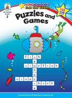 Puzzles And Games, Grade 2 (ebook)
