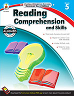 Reading Comprehension and Skills, Grade 5 (eBook)