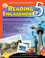 Reading Engagement: Grade 5 by Mark Twain Media