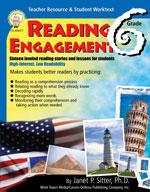 Reading Engagement: Grade 6 by Mark Twain Media