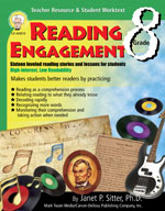 Reading Engagement: Grade 8 by Mark Twain Media