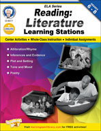 Reading Literature Learning Stations by Mark Twain Media