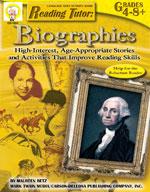 Reading Tutor: Biographies by Mark Twain Media
