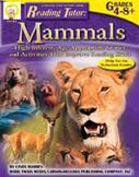 Reading Tutor: Mammals by Mark Twain Media