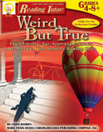 Reading Tutor: Weird But True by Mark Twain Media