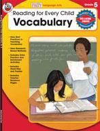 Reading for Every Child: Vocabulary, Grade 5
