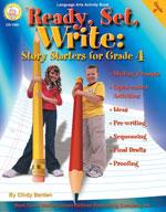 Ready, Set, Write: Grade 4 by Mark Twain Media