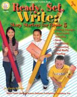 Ready, Set, Write: Grade 5 by Mark Twain Media