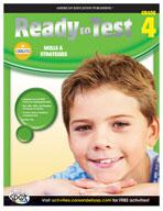 Ready to Test Language Arts and Math, Grade 4