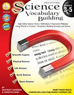 Science Vocabulary Building: Grades 3-5 by Mark Twain Media