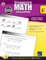 Singapore Math Challenge: Grades 3-5