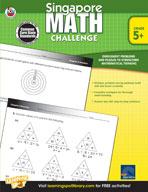 Singapore Math Challenge: Grades 5-8