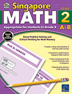 Singapore Math, Grade 3 (ebook)