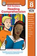 Skill Builders Reading Comprehension, Grade 8