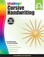Spectrum Cursive Handwriting, Grades 3–5 (ebook)