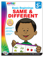 Spectrum Early Years Basic Beginnings: Same and Different