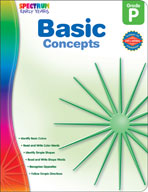 Spectrum Early Years: Basic Concepts