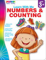 Spectrum Early Years Learn With Me: Numbers and Counting