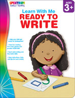 Spectrum Early Years Learn With Me: Ready to Write