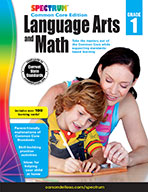 Spectrum Language Arts And Math, Grade 1
