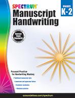 Spectrum Manuscript Handwriting, Grades K–2 (ebook)