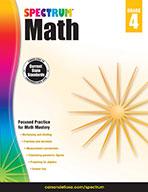Spectrum Math, Grade 4