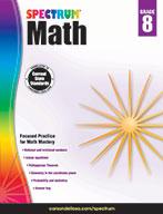 Spectrum Math, Grade 8