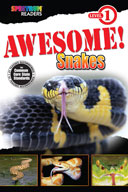 Spectrum Readers Level 1: Awesome! Snakes