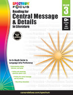 Spectrum Reading For Central Message And Details In Literature