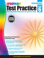 Spectrum Test Practice, Grade 6