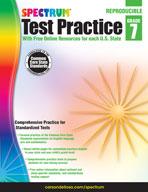 Spectrum Test Practice, Grade 7