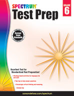 Spectrum Test Prep, Grade 6 (ebook)