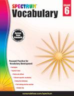 Spectrum Vocabulary, Grade 6
