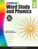 Spectrum Word Study And Phonics, Grade 3
