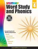 Spectrum Word Study And Phonics, Grade 4