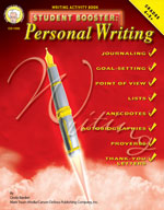 Student Booster: Personal Writing by Mark Twain Media