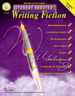 Student Booster: Writing Fiction by Mark Twain Media