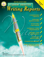 Student Booster: Writing Reports by Mark Twain Media