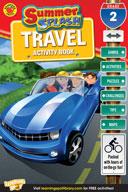 Summer Splash Travel Activity Book: Grade 2